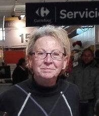 Foto de la actual secretaria de la asociación