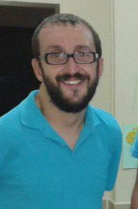 Foto del actual presidente de la asociación
